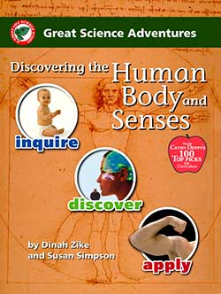Discovering the Human Body and Senses, Great Science Adventures Series 9781929683147