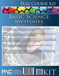 Basic Science Mysteries Kit