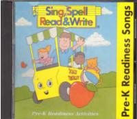 Sing Spell Read and Write Pre-K Readiness Songs CD