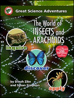 World of Insects and Arachnids, Great Science Adventures Series 9791929683085