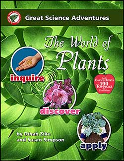 World of Plants, Great Science Adventures Series  9781929683055