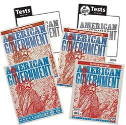 Go to BJU Press American Government Home School Kit 3rd Ed.