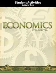 Economics Student Activities Teacher's Edition 2 ed. 200402 BJUPress