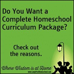 Do You Want A Complete Homeschool Curriculum Package?