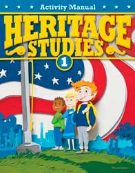 BJU Press Heritage Studies 1 Student Activity Manual  281469