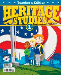 BJU Press Heritage Studies 1 Teachers Edition 281501