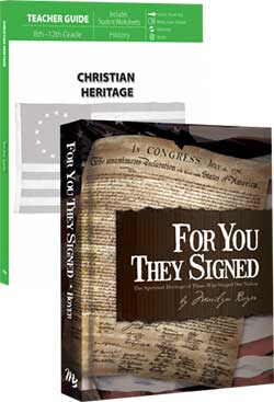 Christian Heritage Curriculum Package 9780890517697