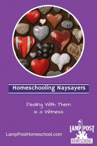 How to Deal With Homeschooling Naysayers