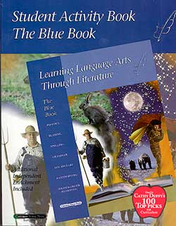 Blue Book Student Activity Book Learning Language Arts Through Literature