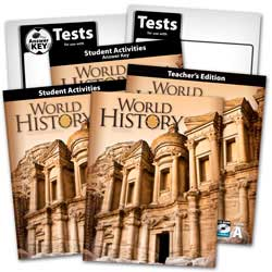 Go to BJU Press World HIstory for 10th Grade