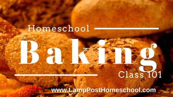 Homeschool Baking Class 101