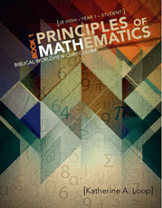 Principles of Mathematics Book 1 Text 9780890518755