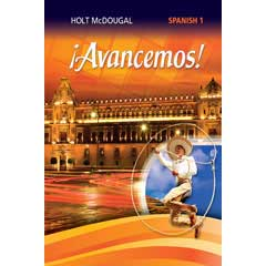 Go to Holt McDougal ¡Avancemos! Homeschool Spanish Level 1