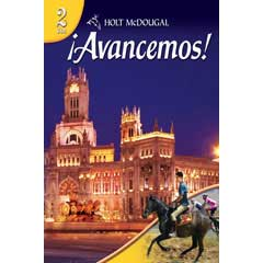 Go to Holt McDougal ¡Avancemos! Homeschool Spanish Level 2