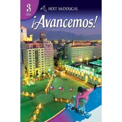 Go to Holt McDougal ¡Avancemos! Homeschool Spanish Level 3