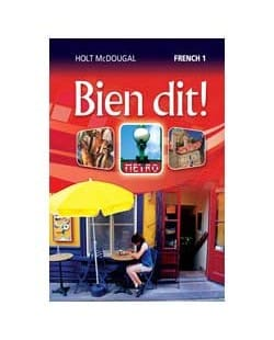 Go to Holt McDougal Bien dit! French Level 1 Homeschool Package