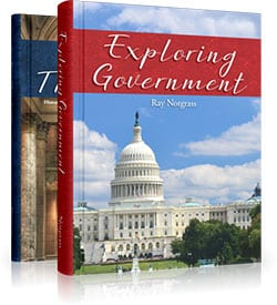 Exploring Government Curriculum Package by Ray Notgrass