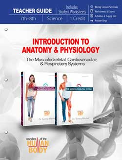 Intro to Anatomy & Physiology Teacher Guide 9780890519295