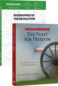 Go to Biographies of the Revolution: Fight For Freedom Set 9780890519424