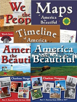 America the Beautiful History Course by Notgrass Company