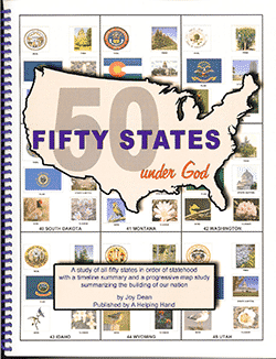 Fifty States Under God by Joy Dean, Publisher: A Helping Hand